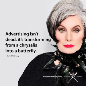 Advertising From a Chrysalis into a Butterfly