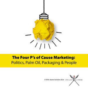 The Four P's of Cause Marketing in 2019