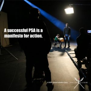 Five Ways to Make a PSA in Five Days